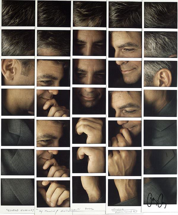 Polaroid Collages of Celebrity Portraits by Maurizio Galimberti