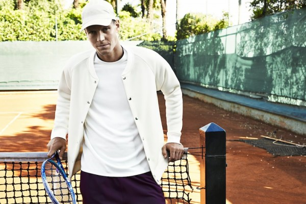 H&M partner up with tennis star Tomas Berdych 5