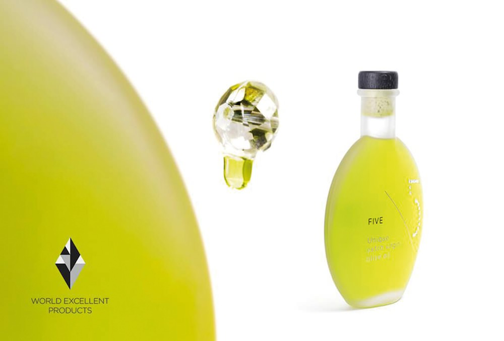unique Five Olive Oil designed by Designers United