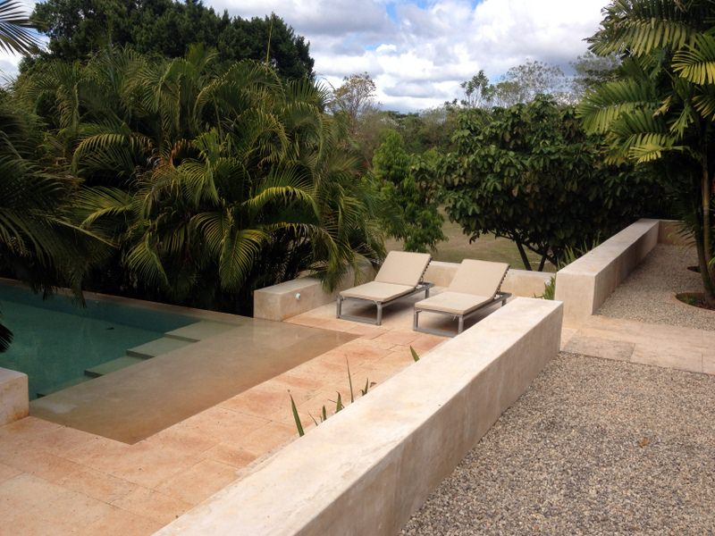 poolterrace Bacoc Hacienda in the Yucatan Peninsula