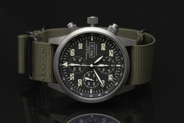 the Chronograph Modern from Maurice De Mauriac Zurich 2