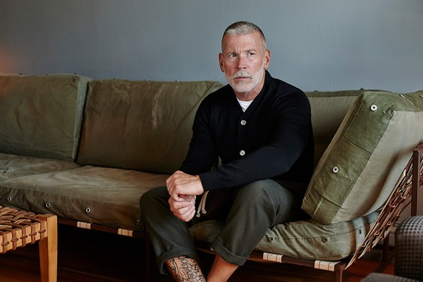 Inside Nick Wooster's apartment