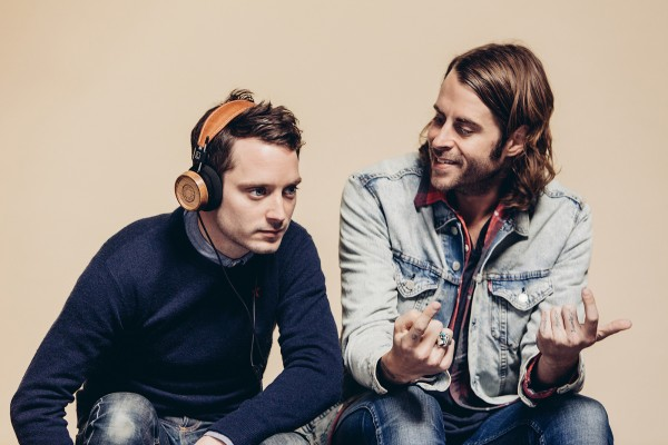 Elijah Wood and his friend Zach Cowie love the Bushmills Irish Whiskey x Grado headphones