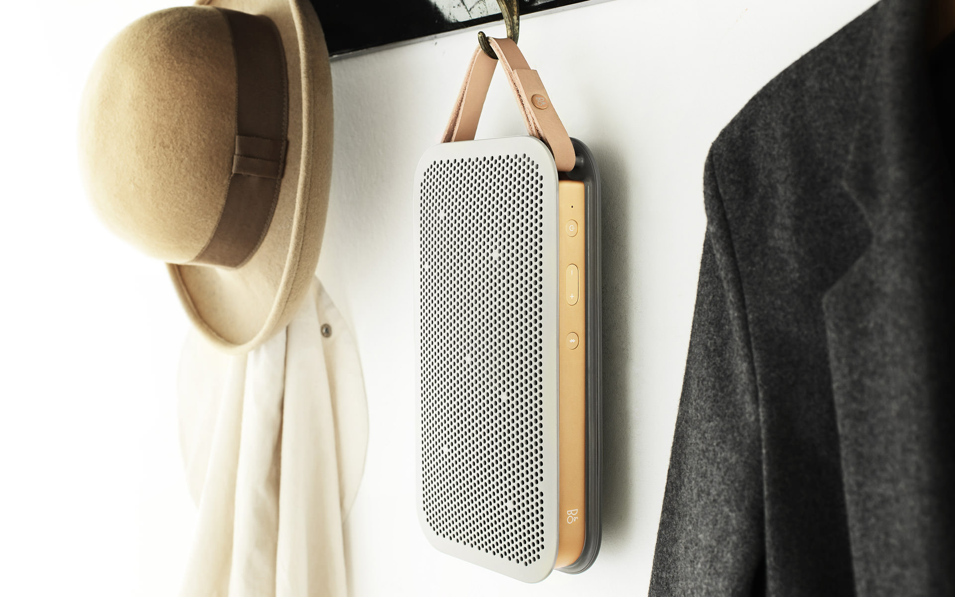 beoplay a2 bluetooth speaker by bang olufsen design father. Black Bedroom Furniture Sets. Home Design Ideas