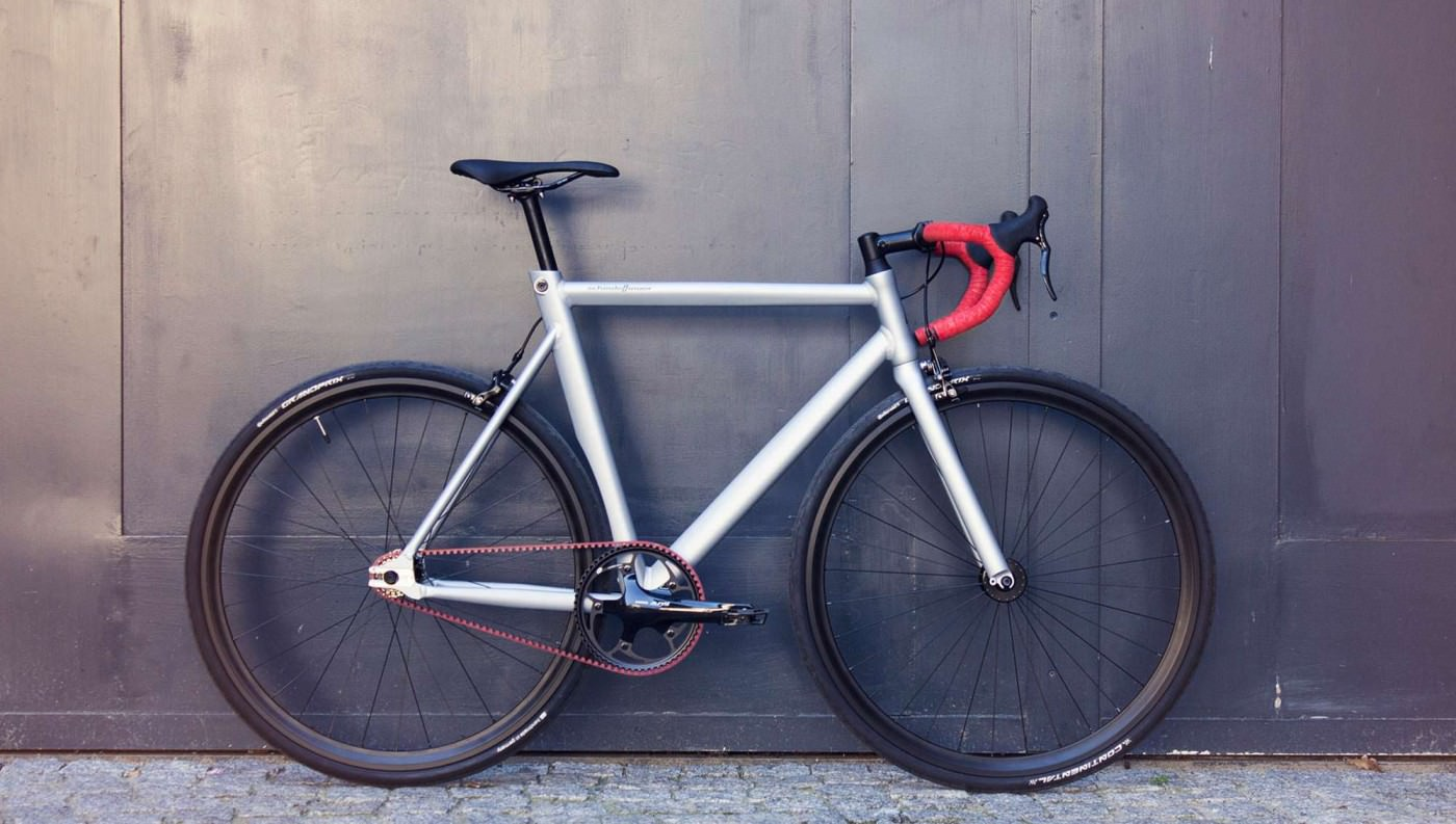 The Schindelhauer Viktor Red Race Bicycle Design Father