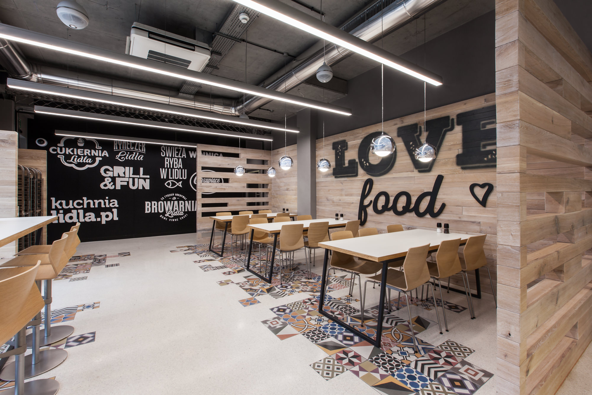 Lidl Restaurant By Mode Lina Architekci Design Father
