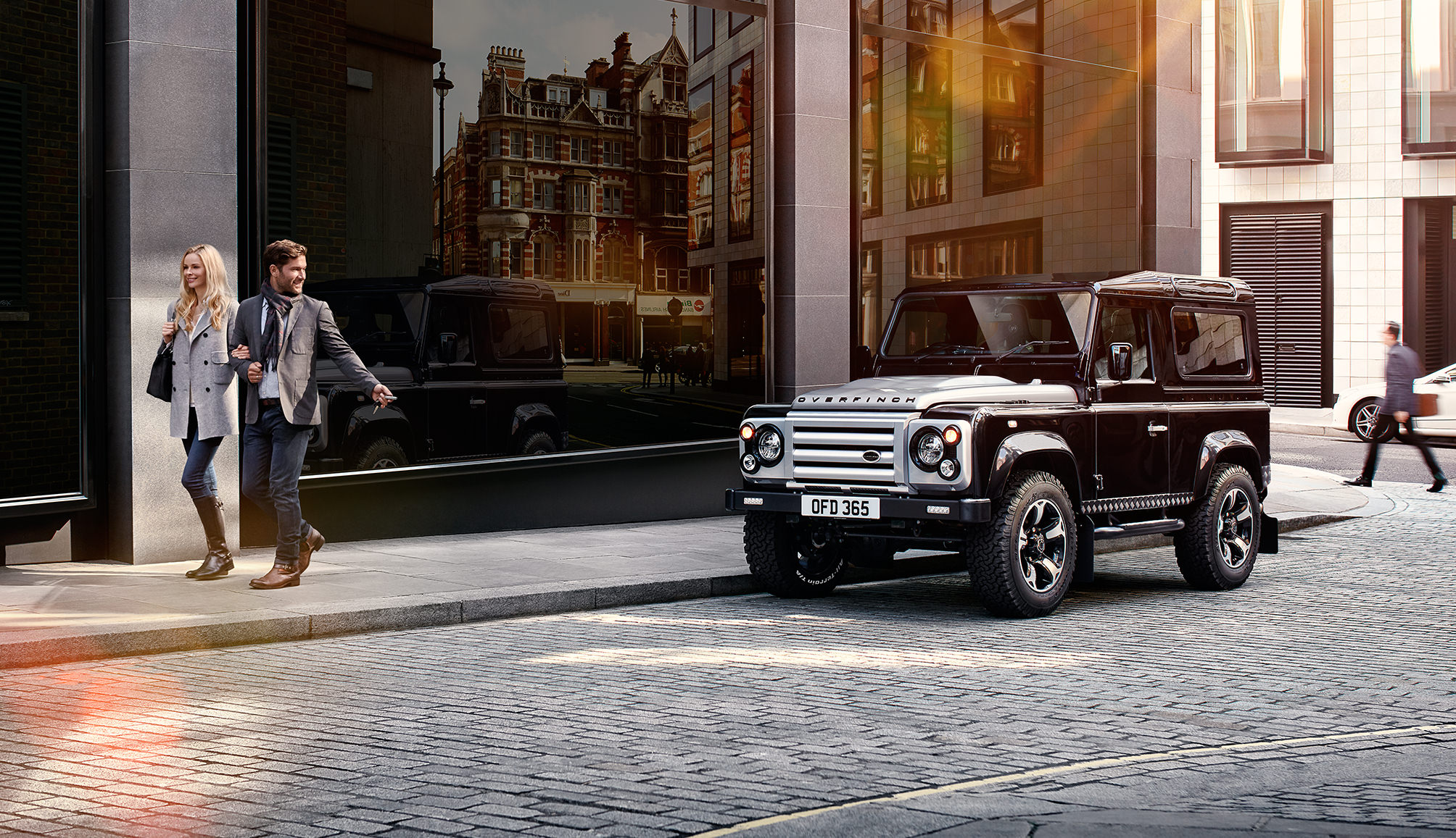 carscoops custom rover ultimate rs land lr urban truck defender packs hp landrover dashboard photos