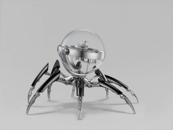 The OCTOPOD table clock by MB&F and L'Epée 1839